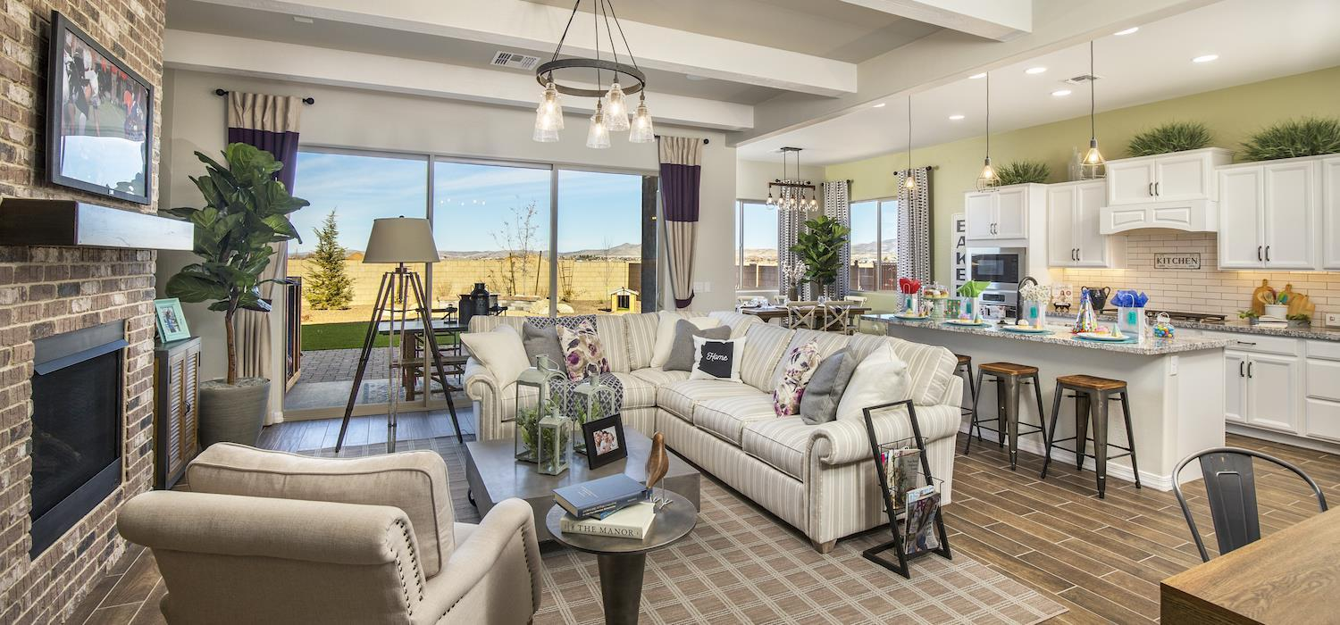 Living Area featured in the Sunrise By Dorn Homes  in Prescott, AZ