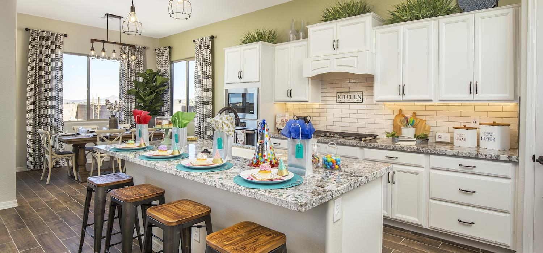 Kitchen featured in the Sunrise By Dorn Homes  in Prescott, AZ