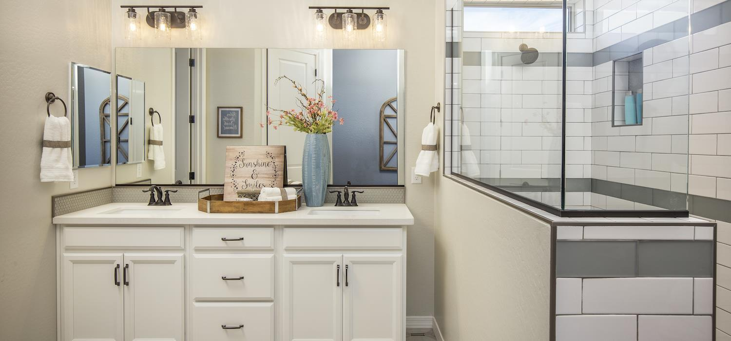 Bathroom featured in the Sunrise By Dorn Homes  in Prescott, AZ