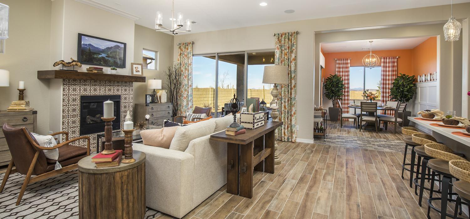 Living Area featured in the Marigold By Dorn Homes  in Prescott, AZ
