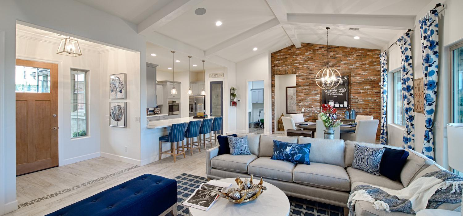 Living Area featured in the Morning Star By Dorn Homes  in Prescott, AZ