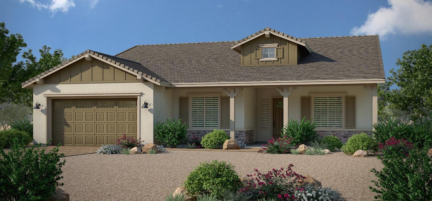 Exterior featured in the Tarragon By Dorn Homes  in Prescott, AZ