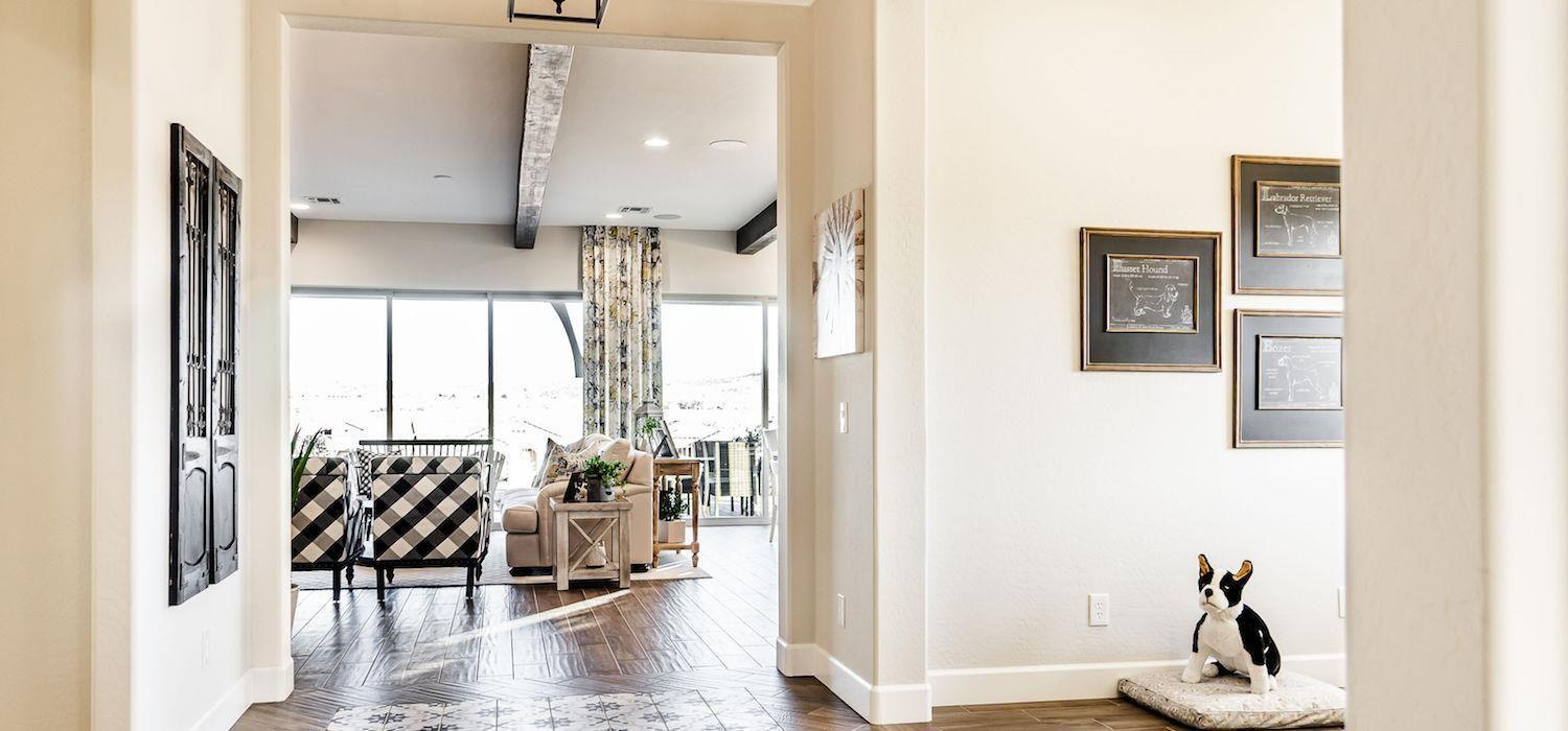 Living Area featured in the Laurel By Dorn Homes  in Prescott, AZ