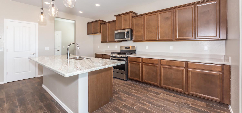 Kitchen featured in the Weston By Dorn Homes  in Prescott, AZ