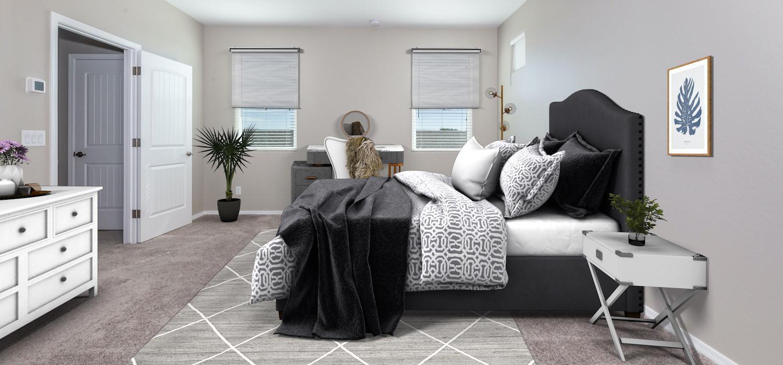 Bedroom featured in the Weston By Dorn Homes  in Prescott, AZ