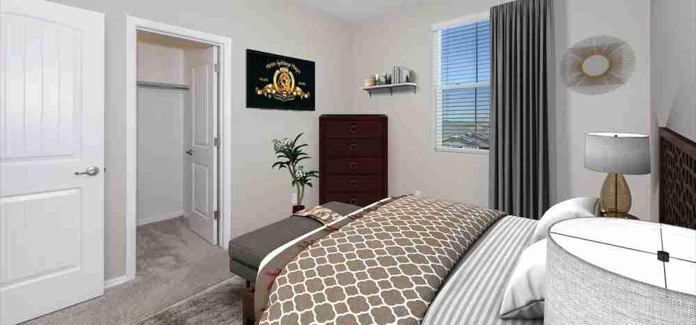 Staged Bedroom 3
