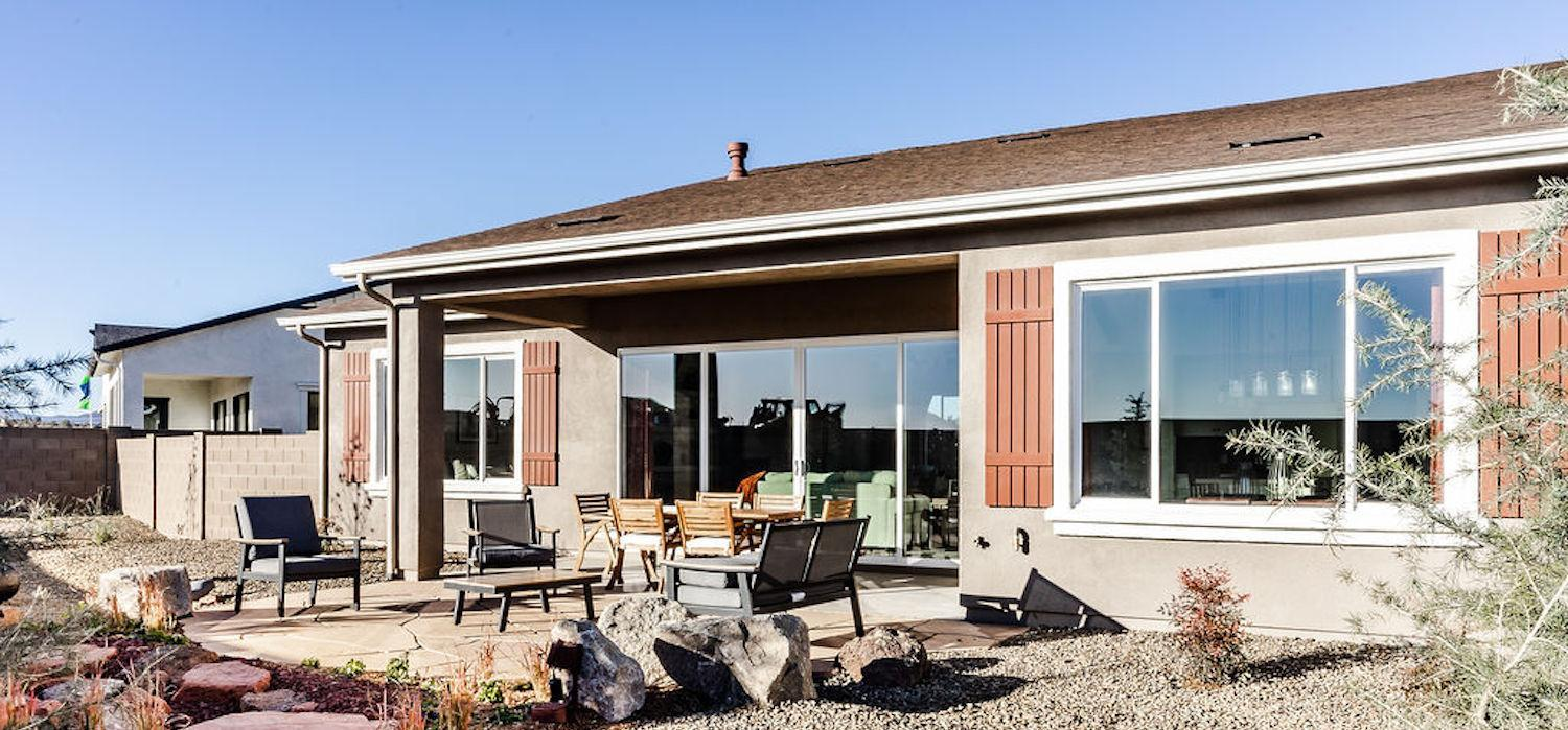 Exterior featured in the Monarch By Dorn Homes  in Prescott, AZ