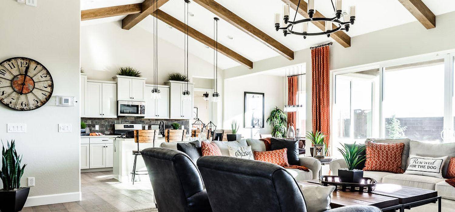 Living Area featured in the Monarch By Dorn Homes  in Prescott, AZ