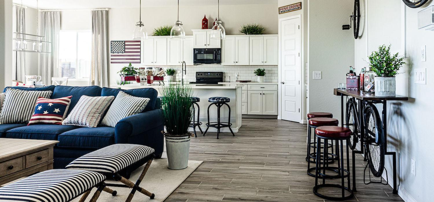 Living Area featured in the Silverton By Dorn Homes  in Prescott, AZ