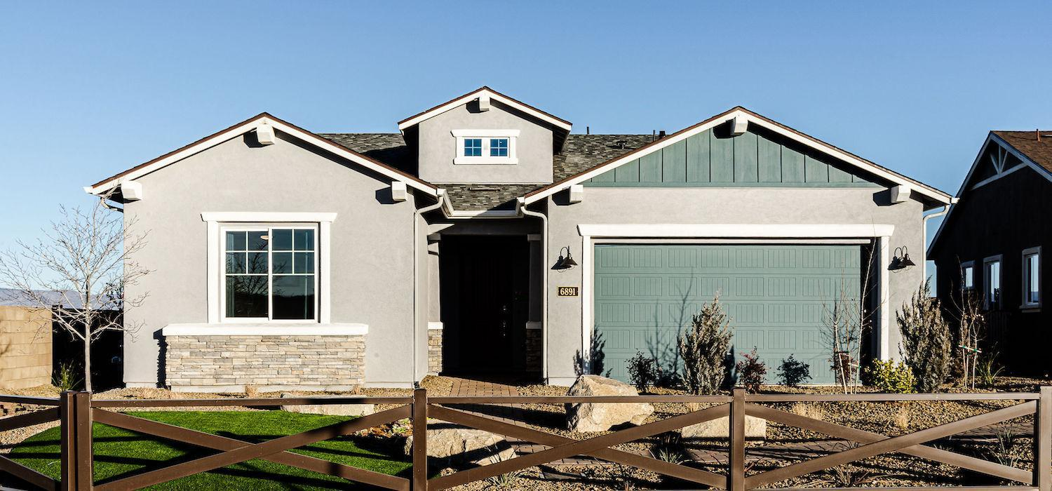 Exterior featured in the Silverton By Dorn Homes  in Prescott, AZ