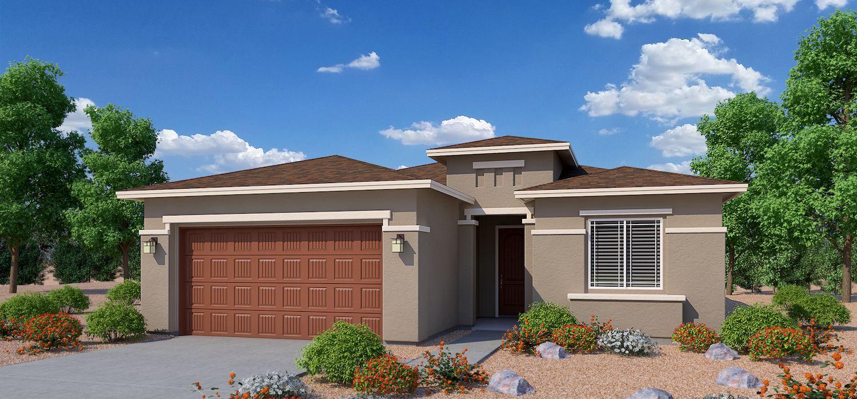 Exterior featured in the Cimarron By Dorn Homes  in Prescott, AZ
