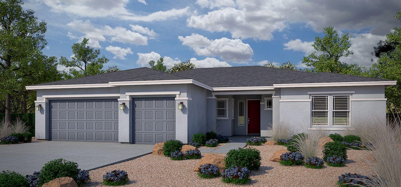 Exterior featured in the Gunnison By Dorn Homes  in Prescott, AZ