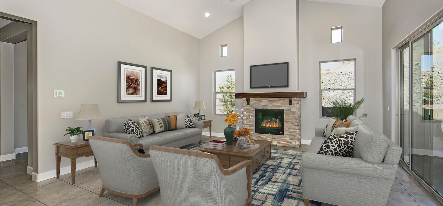 Living Area featured in the Telluride By Dorn Homes  in Prescott, AZ