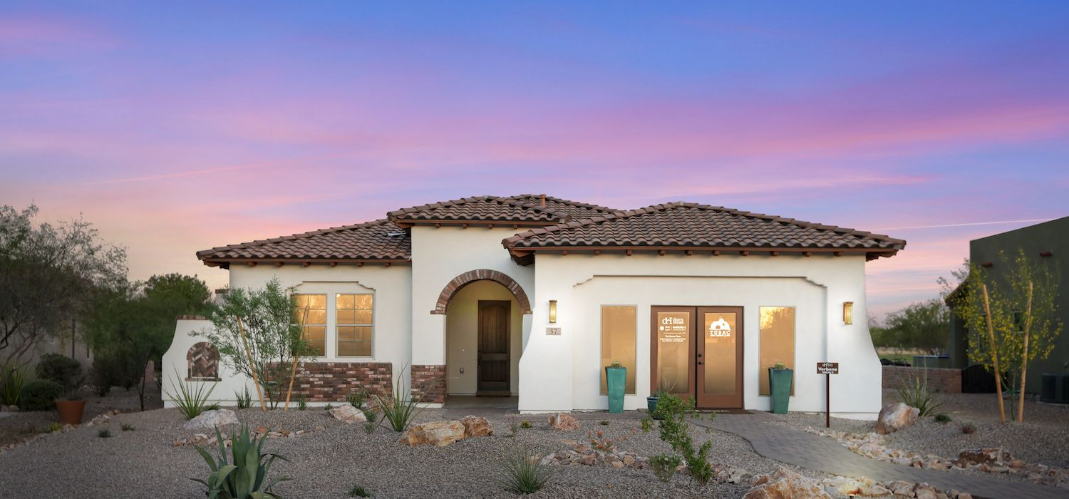 Exterior featured in the Verbena By Dorn Homes  in Tucson, AZ