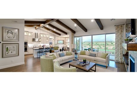Greatroom-and-Dining-in-Sunflower-at-Walden Farms-in-Prescott