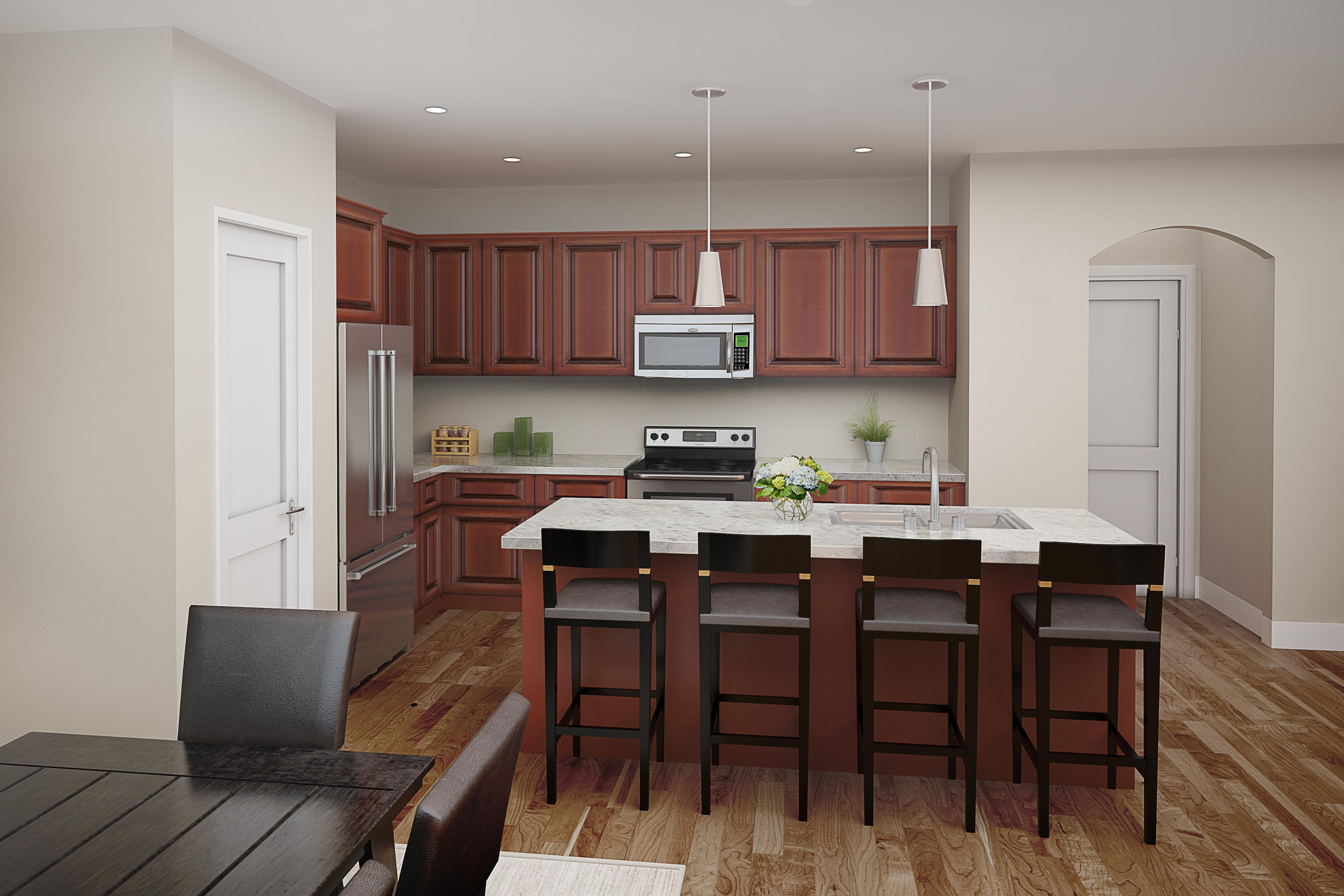 Kitchen featured in The Willow By Dottco Homes in Sacramento, CA