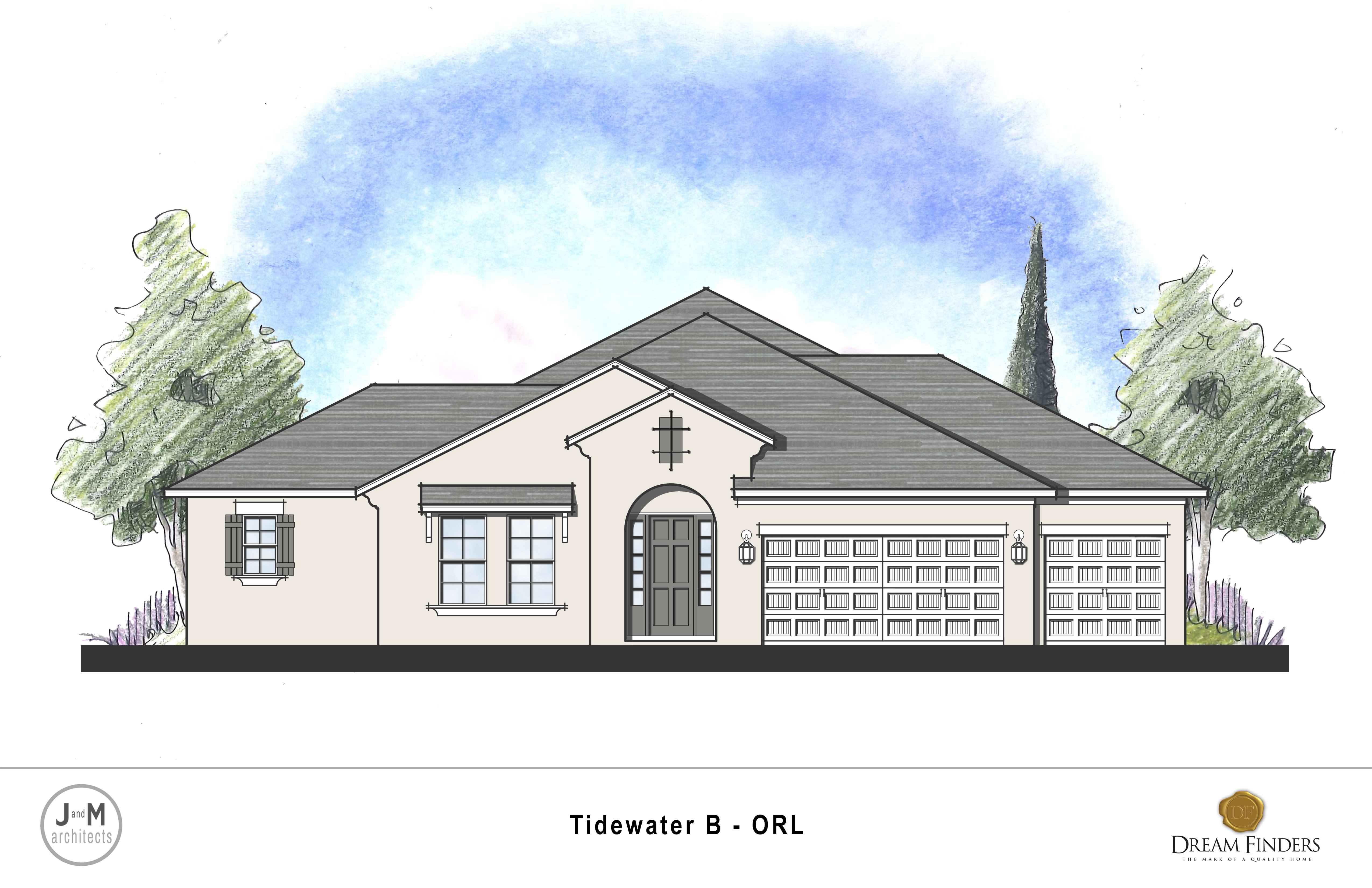 Kitchen featured in the Tidewater Plan By Dream Home Finders in Orlando, FL