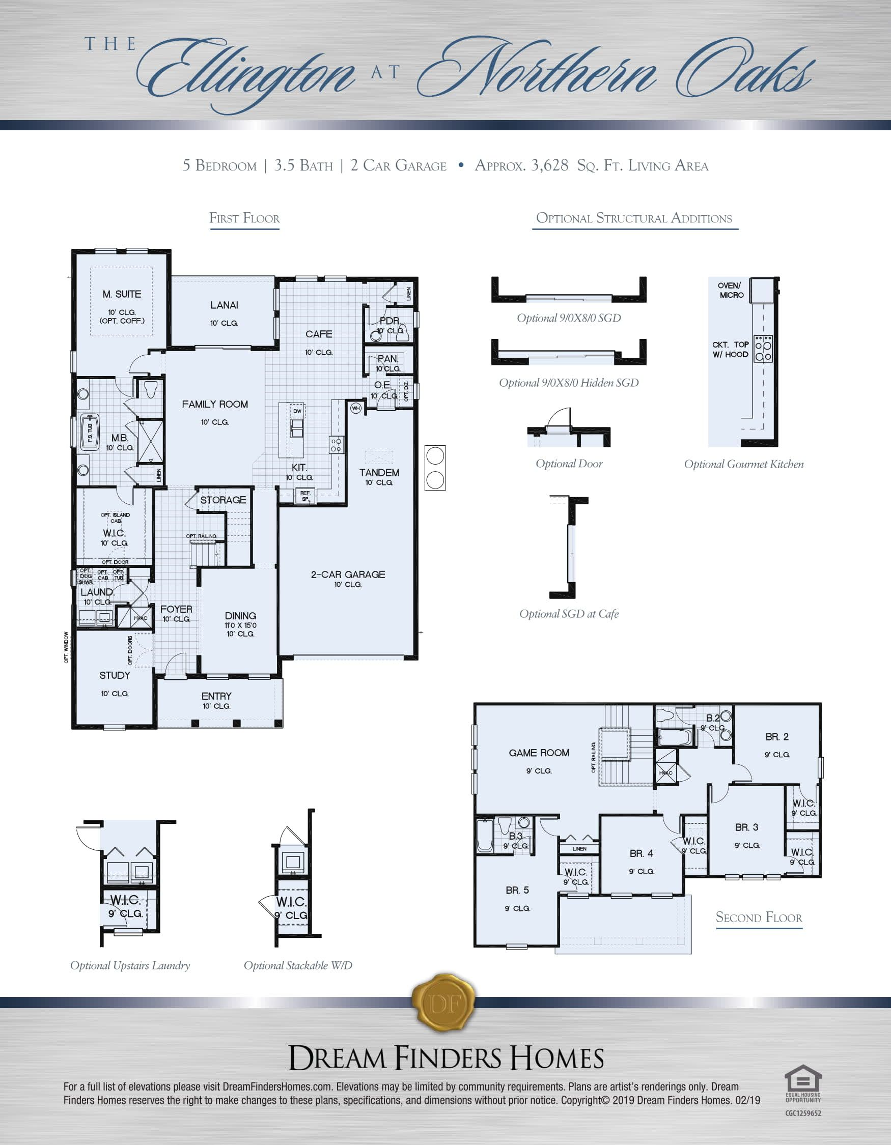 Kitchen featured in The Ellington Plan By Dream Home Finders in Orlando, FL