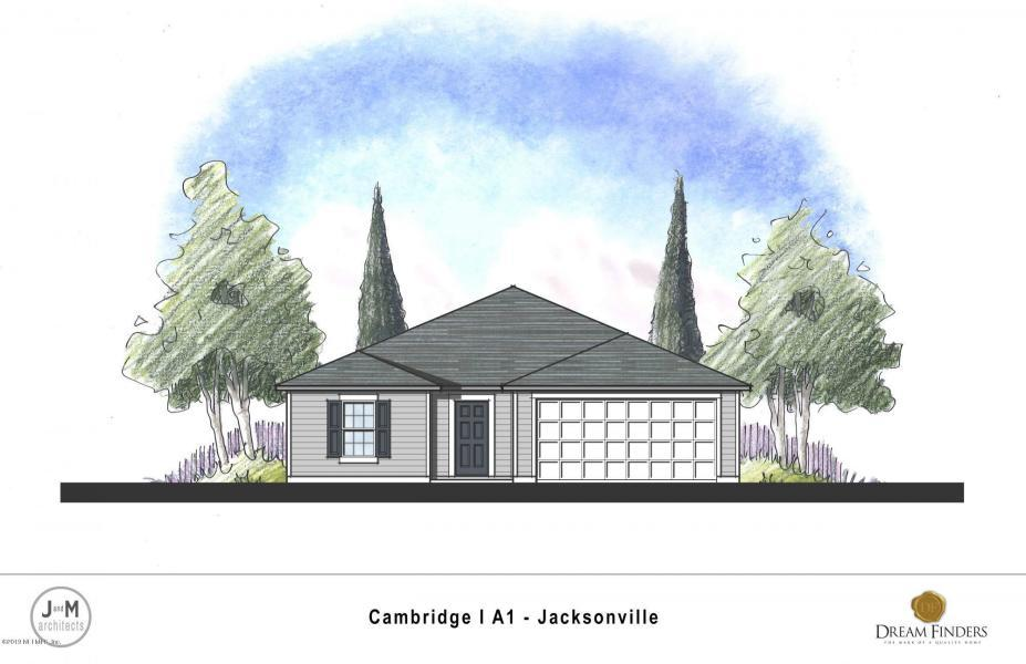 Exterior featured in The Cambridge Plan By Dream Home Finders in Jacksonville-St. Augustine, FL