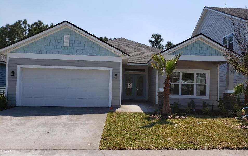 Exterior featured in the Plan 1746 By Dream Home Finders in Jacksonville-St. Augustine, FL