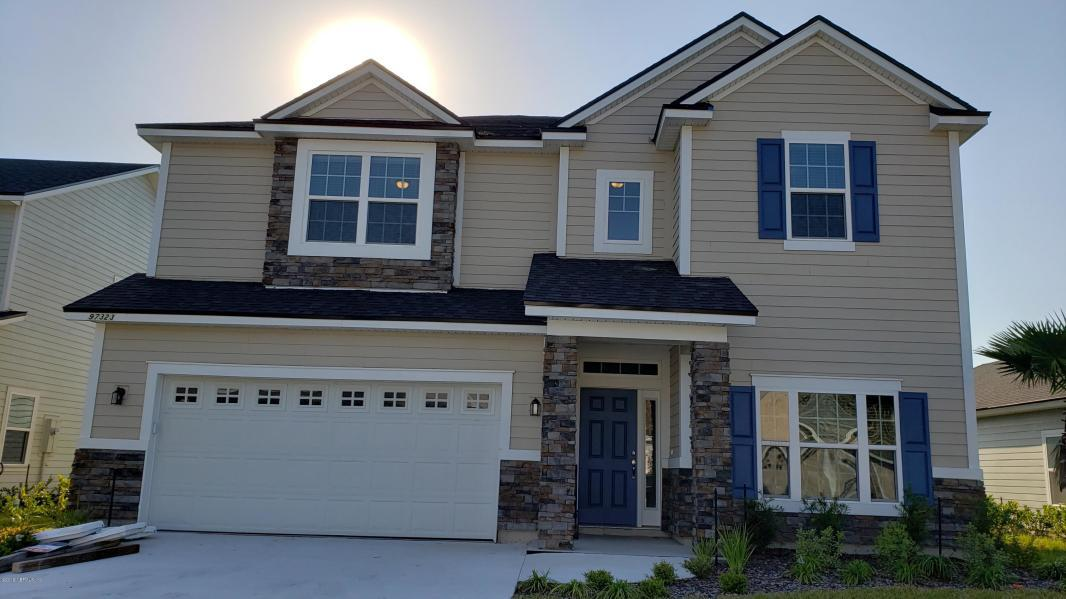 Exterior featured in the Plan 3347 By Dream Home Finders in Jacksonville-St. Augustine, FL