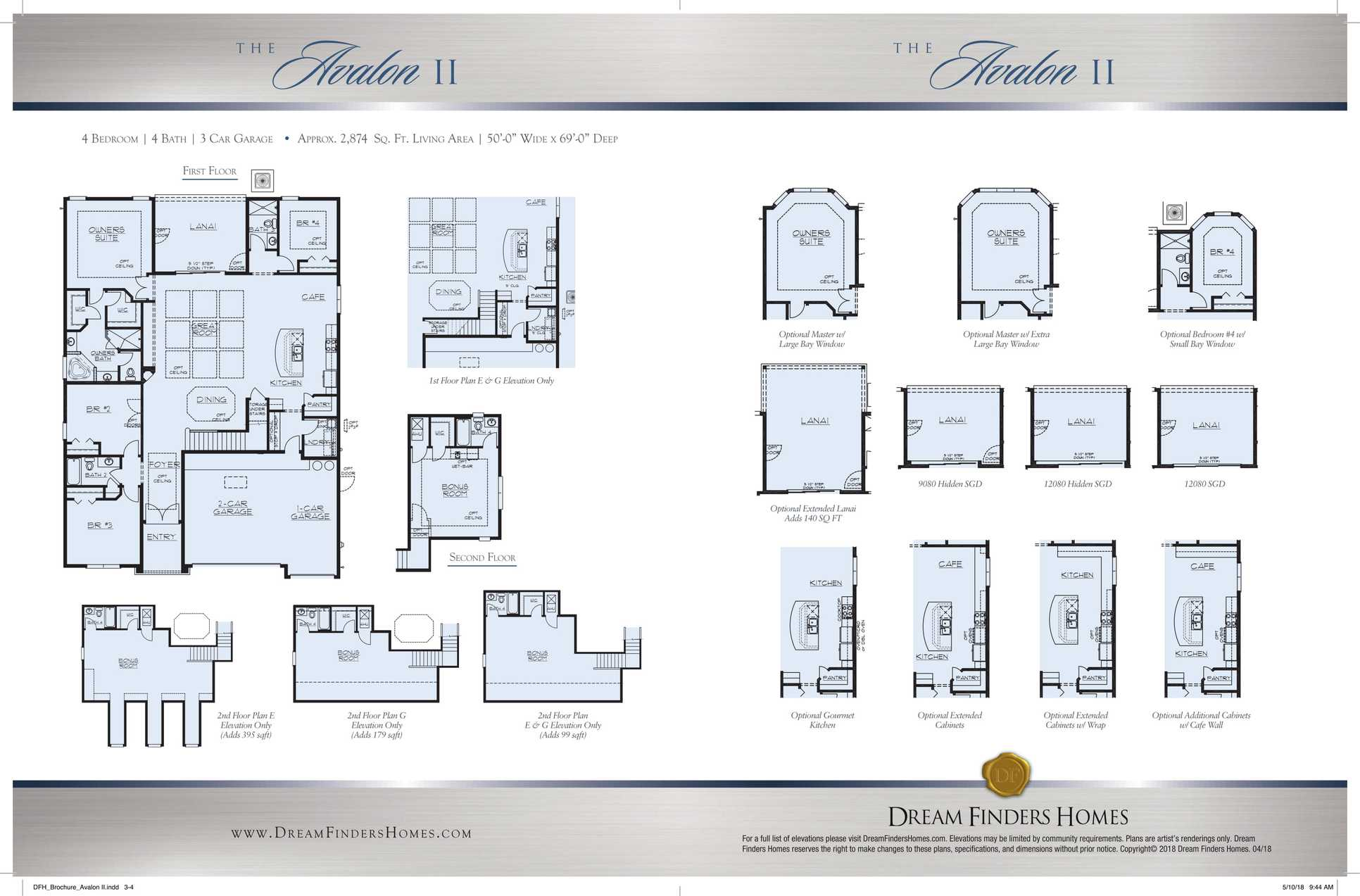 Avalon Ii Plan At Wilford Preserve In Orange Park Fl By Dream Finders Homes