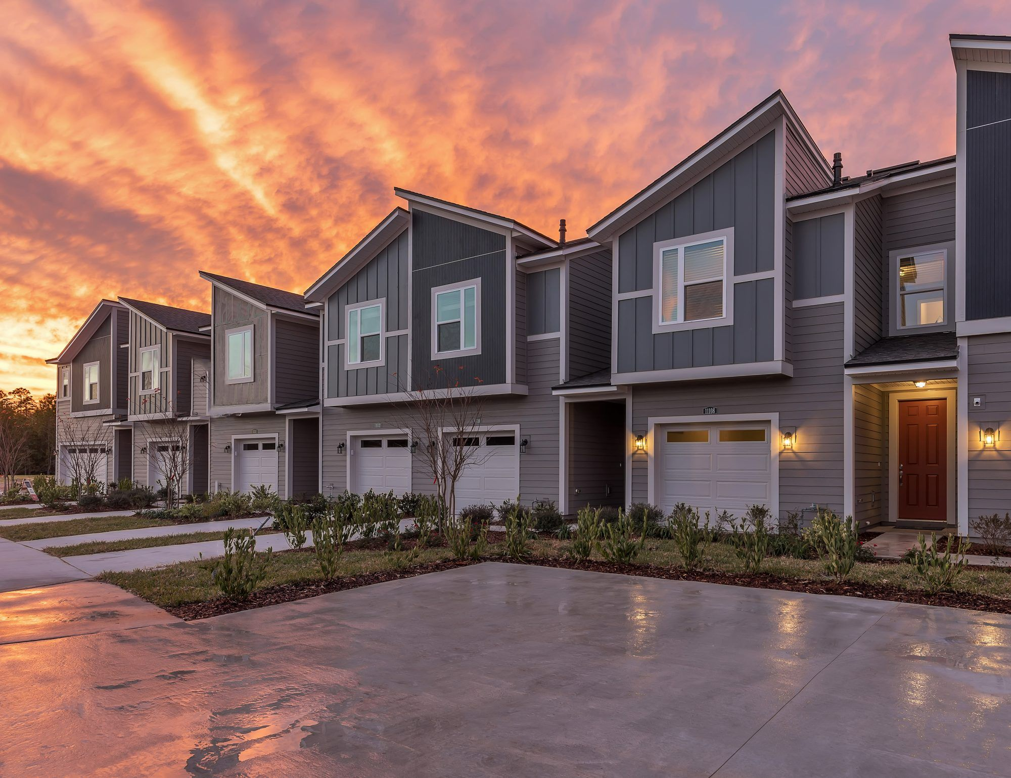 'East Village Townhomes' by Jacksonville in Jacksonville-St. Augustine