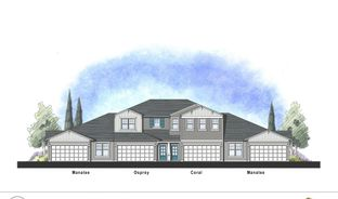 The Osprey - Beacon Lake Townhomes - Harborside: Saint Augustine, Florida - Dream Finders Homes