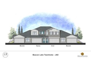 The Osprey - Silverleaf - Holly Forest Townhomes: Saint Augustine, Florida - Dream Finders Homes
