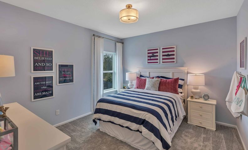 Bedroom featured in the Stockton By Dream Finders Homes in Jacksonville-St. Augustine, FL