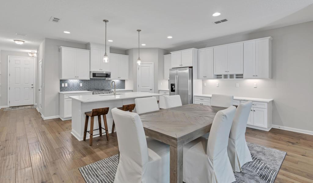 Kitchen featured in the Palmetto By Dream Finders Homes in Jacksonville-St. Augustine, FL