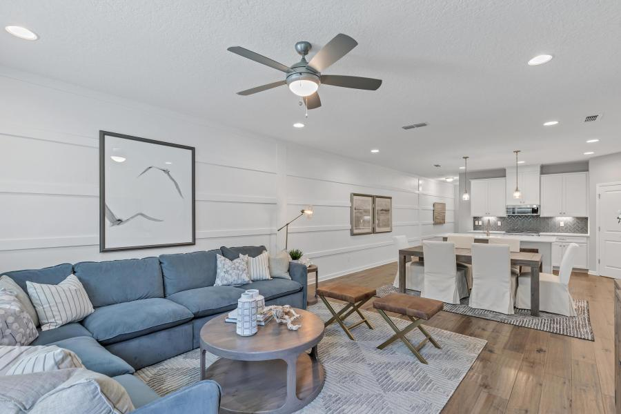Living Area featured in the Palmetto By Dream Finders Homes in Jacksonville-St. Augustine, FL