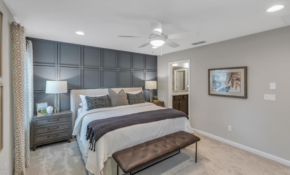 Bedroom featured in the Palmetto By Dream Finders Homes in Jacksonville-St. Augustine, FL