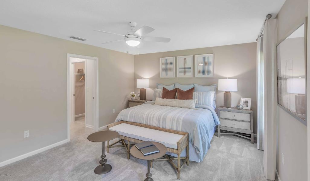 Bedroom featured in the Ansley By Dream Finders Homes in Jacksonville-St. Augustine, FL