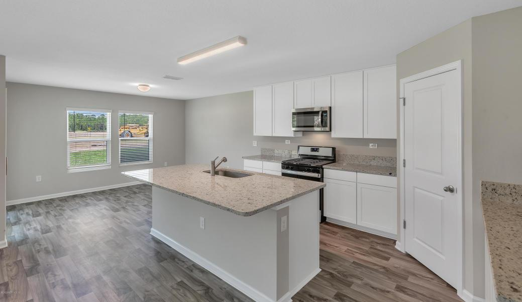 Kitchen featured in the Vilano By Dream Finders Homes in Jacksonville-St. Augustine, FL
