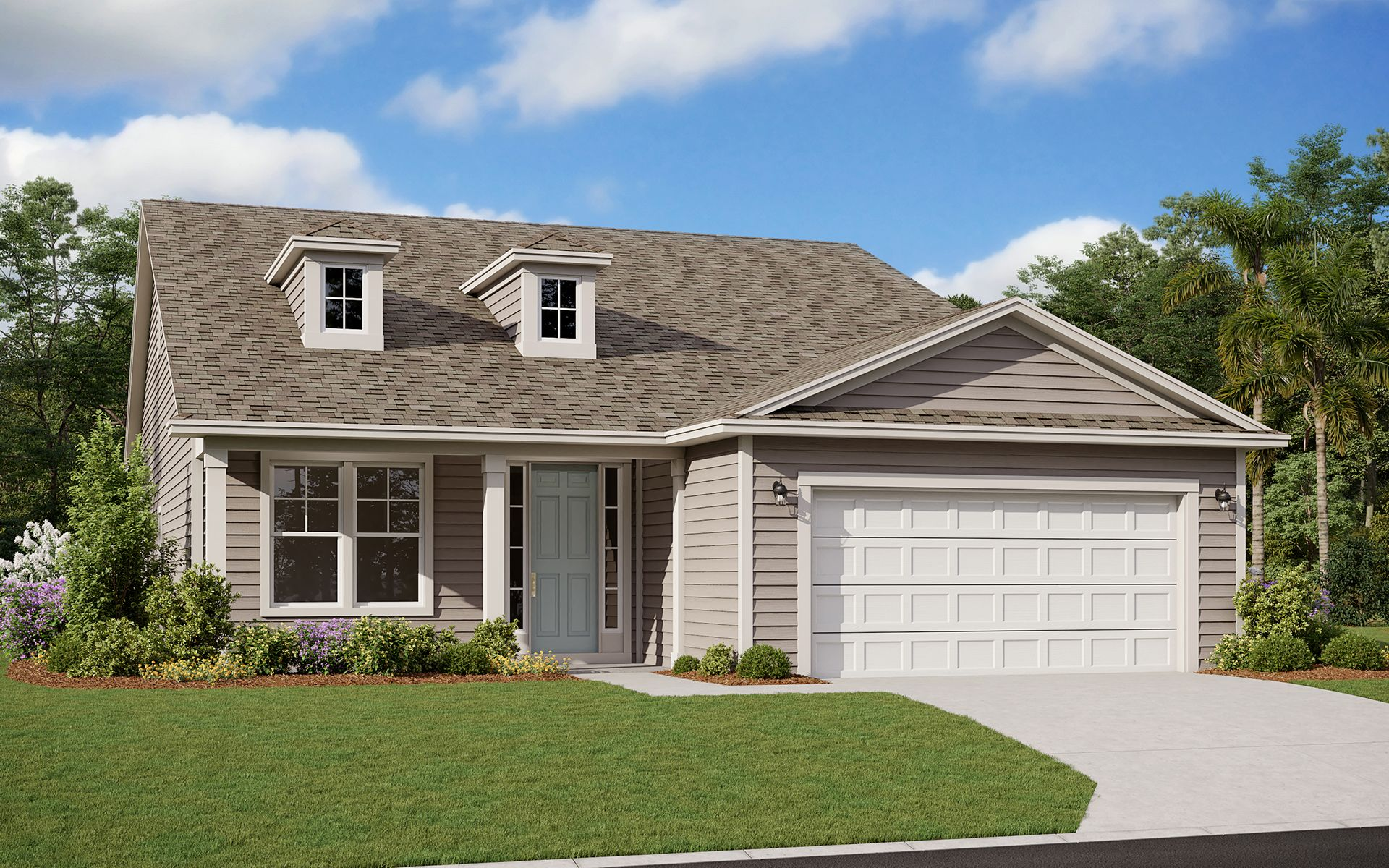 Exterior featured in the Edison By Dream Finders Homes in Daytona Beach, FL