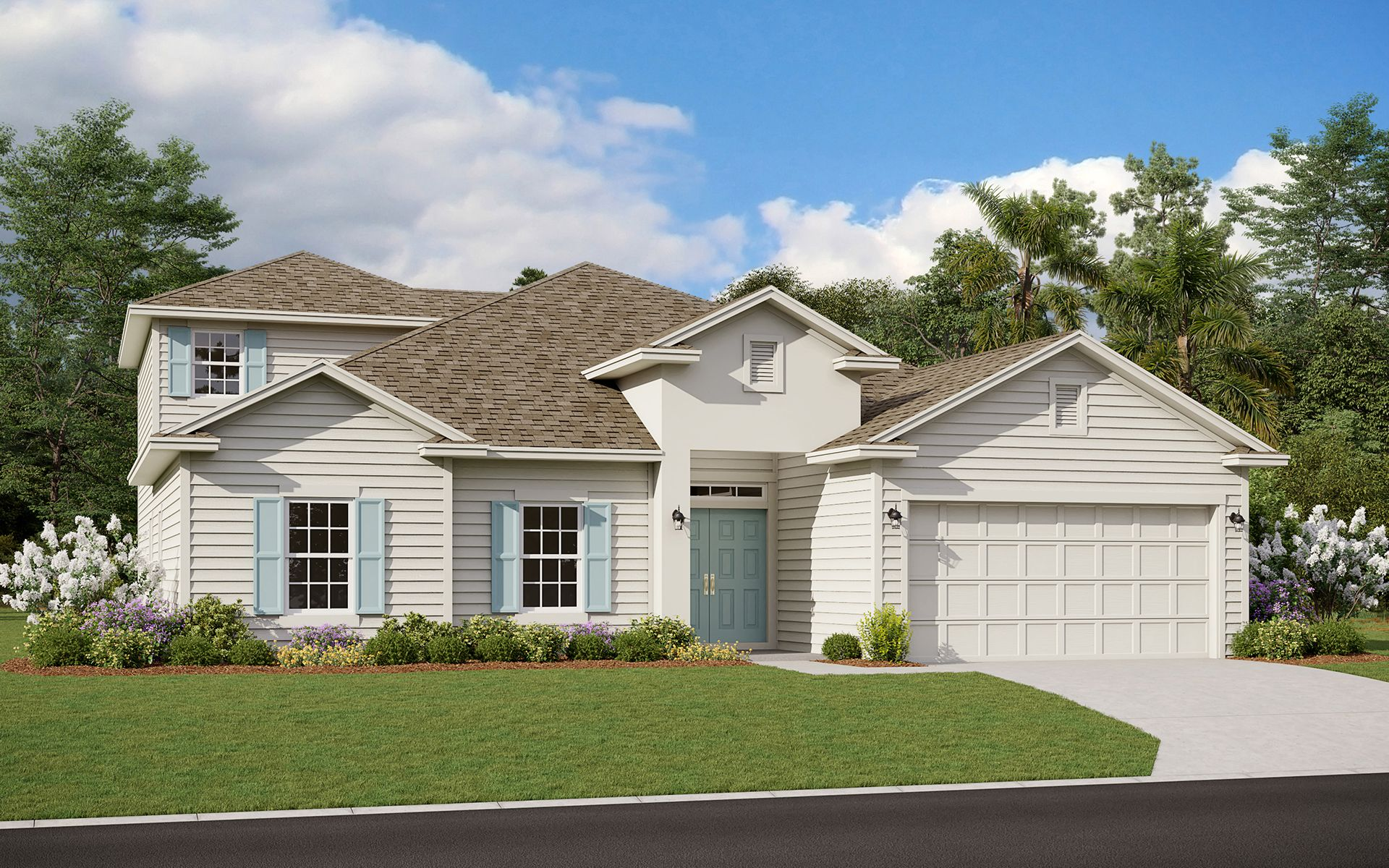 Exterior featured in the Fleming II w/ Bonus By Dream Finders Homes in Daytona Beach, FL