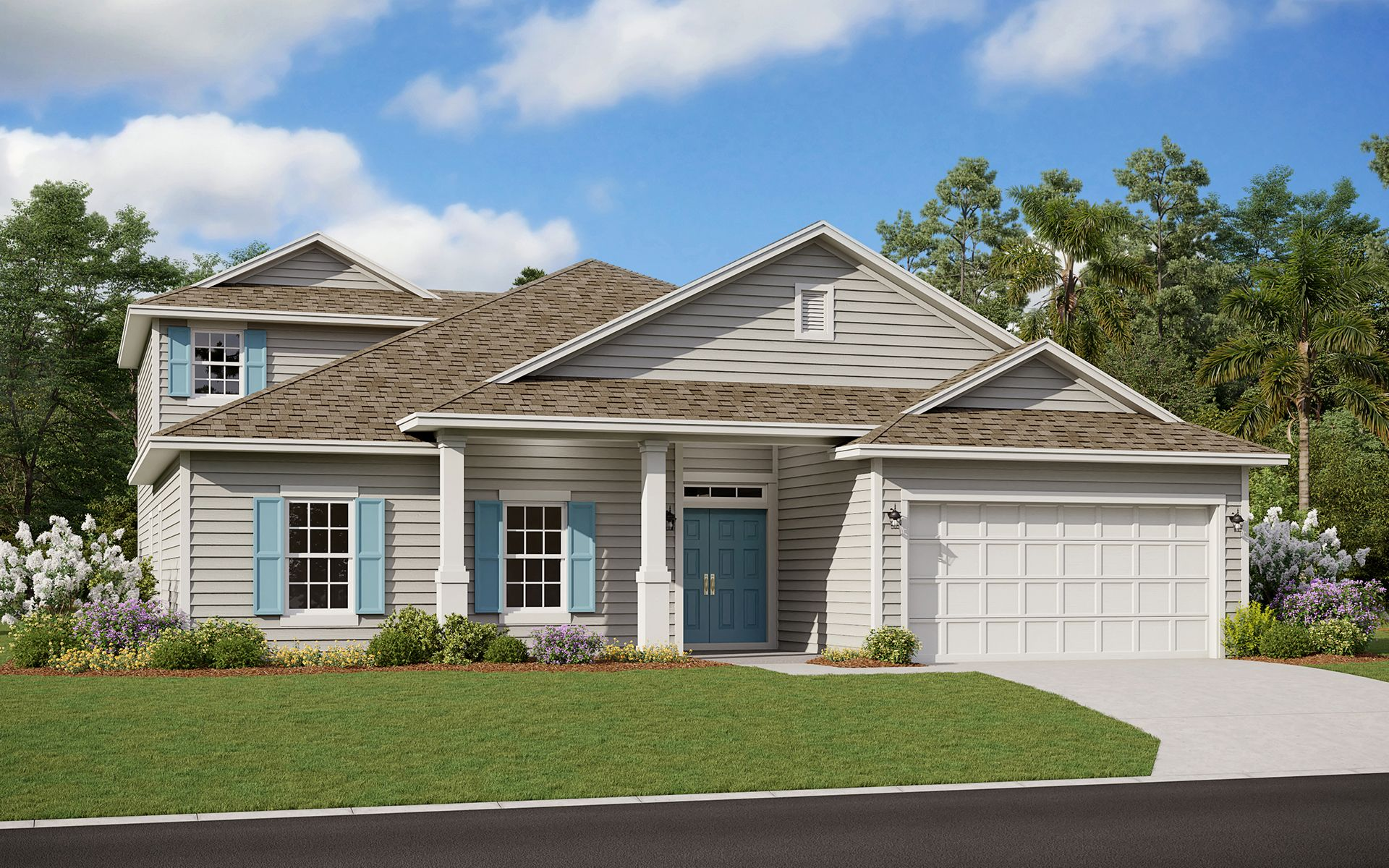 Exterior featured in the Fleming II w/ Bonus By Dream Finders Homes