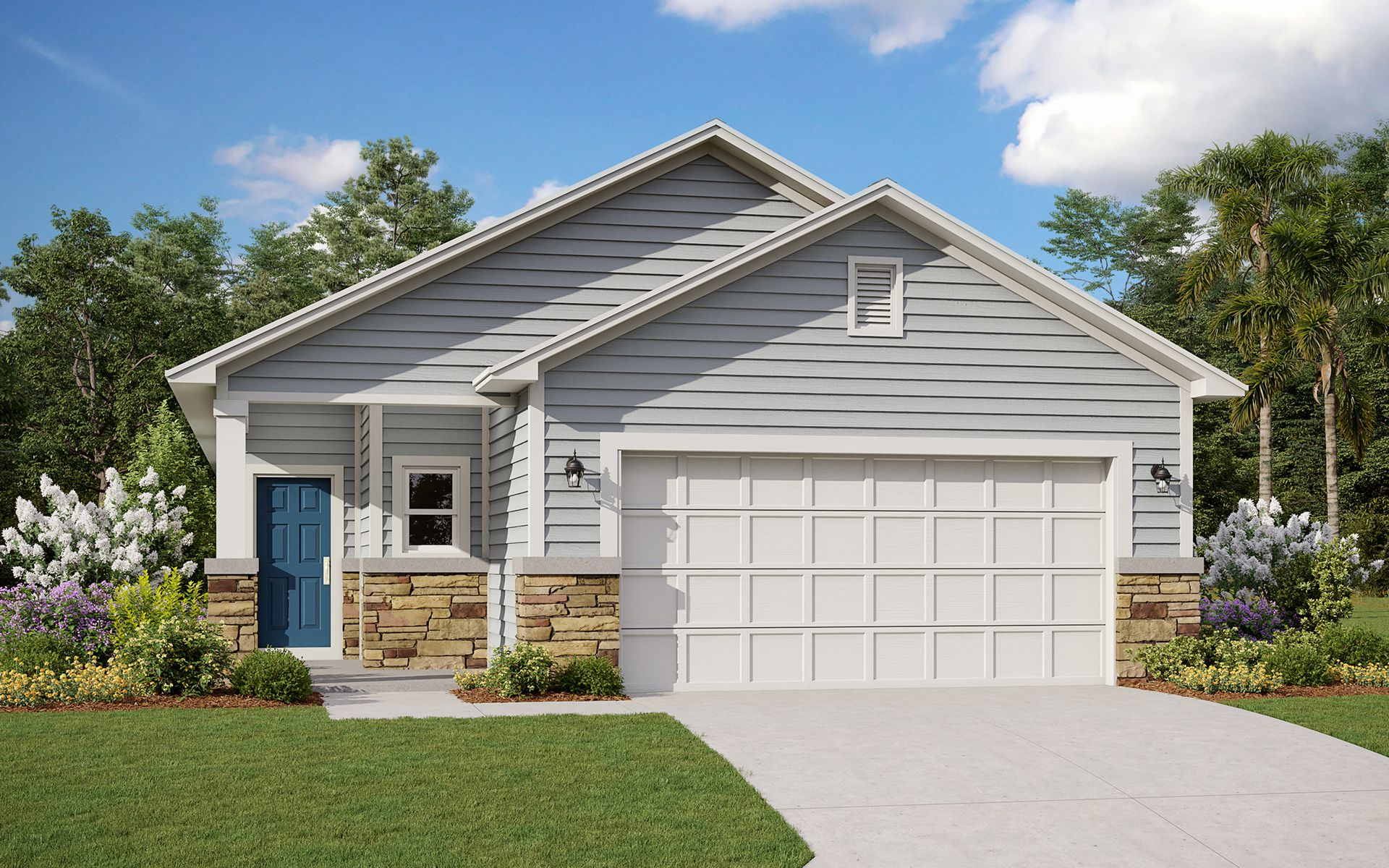Exterior featured in the Avondale By Dream Finders Homes in Jacksonville-St. Augustine, FL