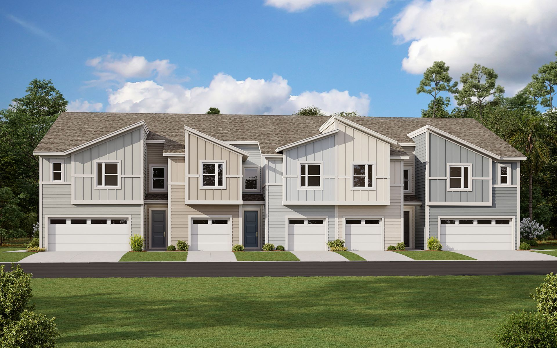 Exterior featured in the Palmetto By Dream Finders Homes in Jacksonville-St. Augustine, FL