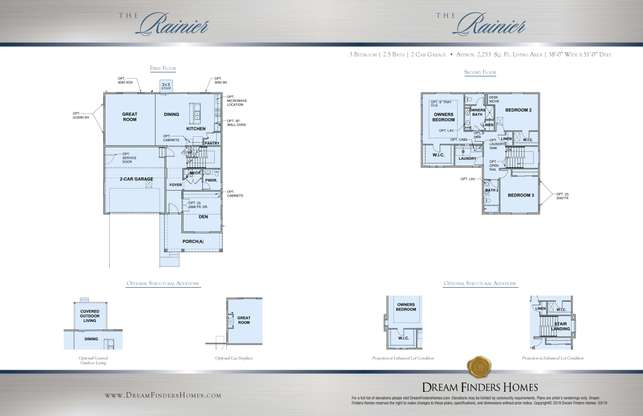 Rainier Plan at Harmony in Aurora, CO by Dream Finders Homes on