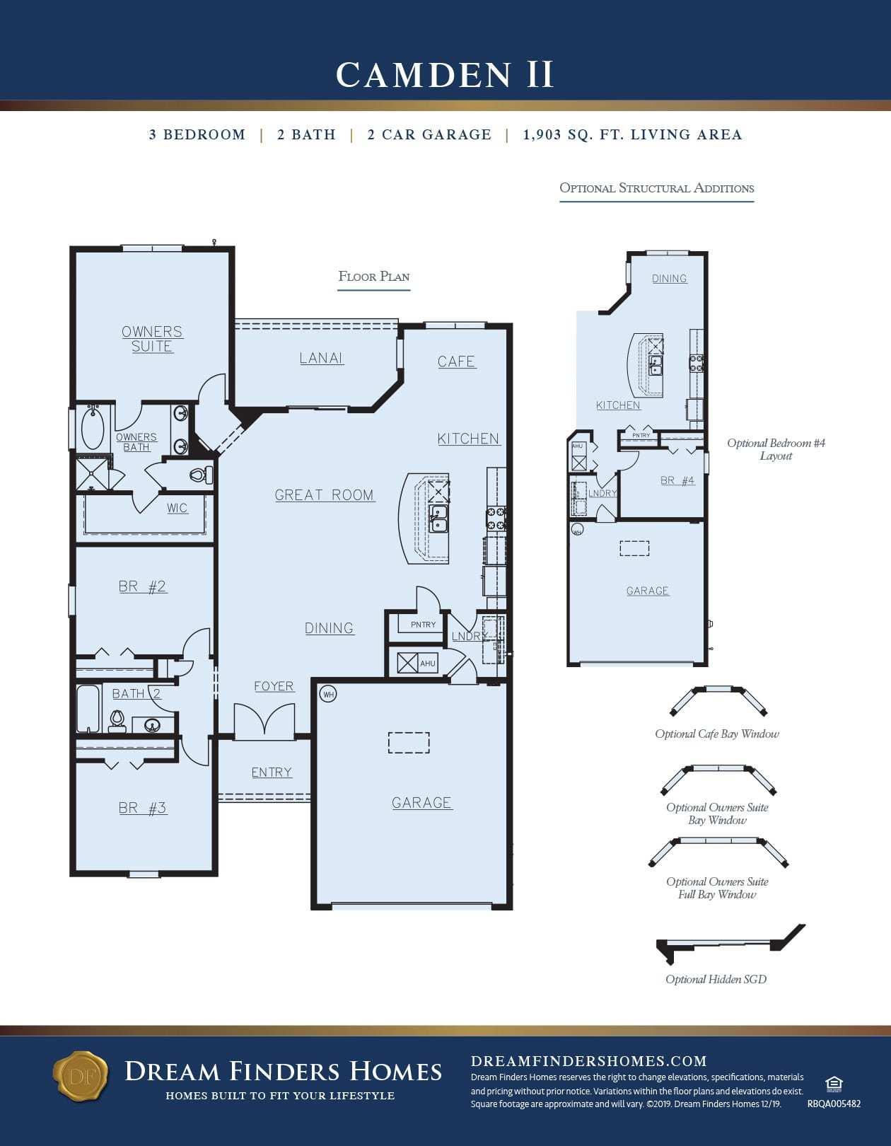 Camden Ii Plan At The Enclave At Berwick Plantation In Savannah Ga By Dream Finders Homes