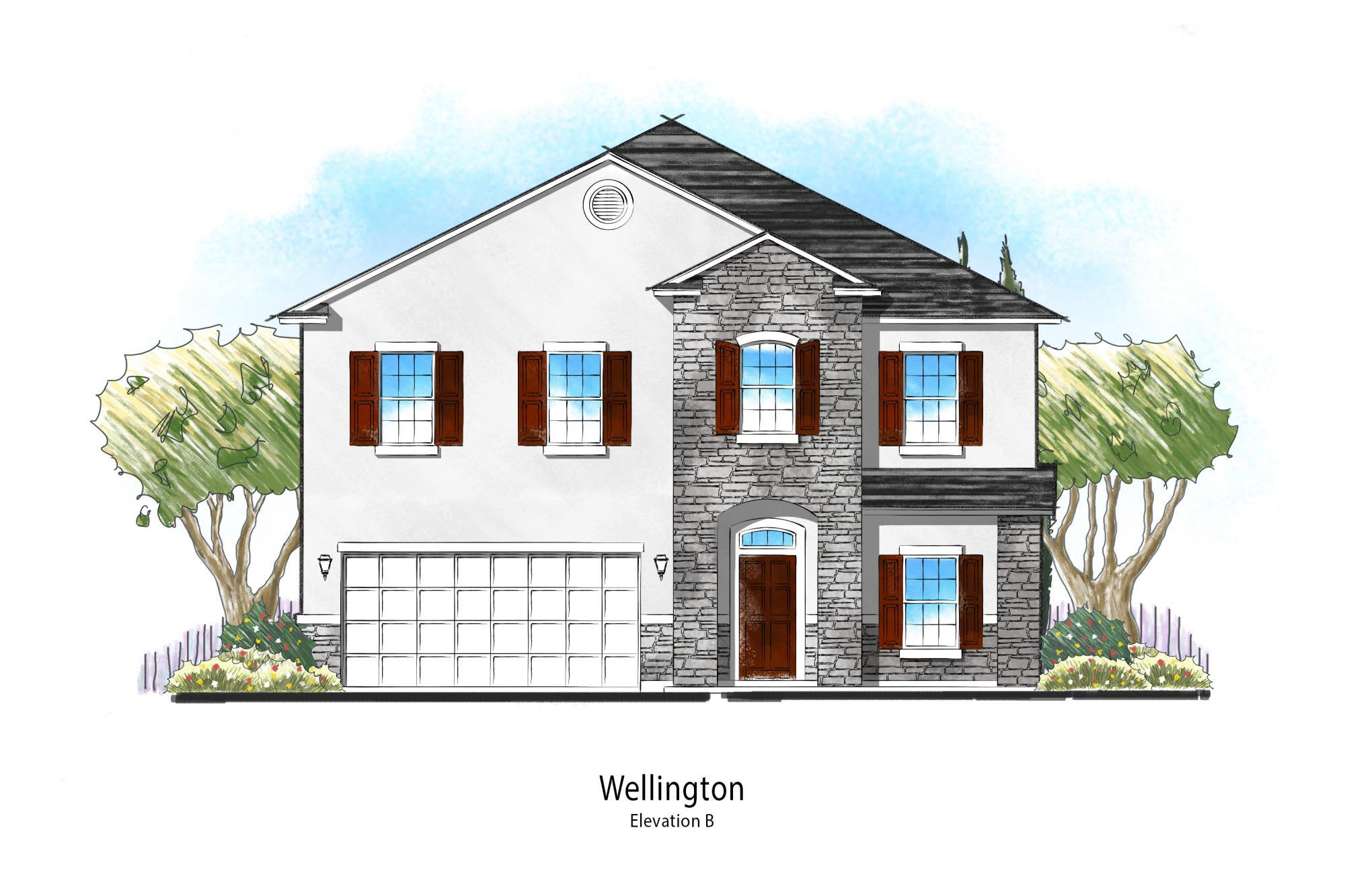 Exterior featured in the Wellington By Dream Finders Homes in Savannah, GA