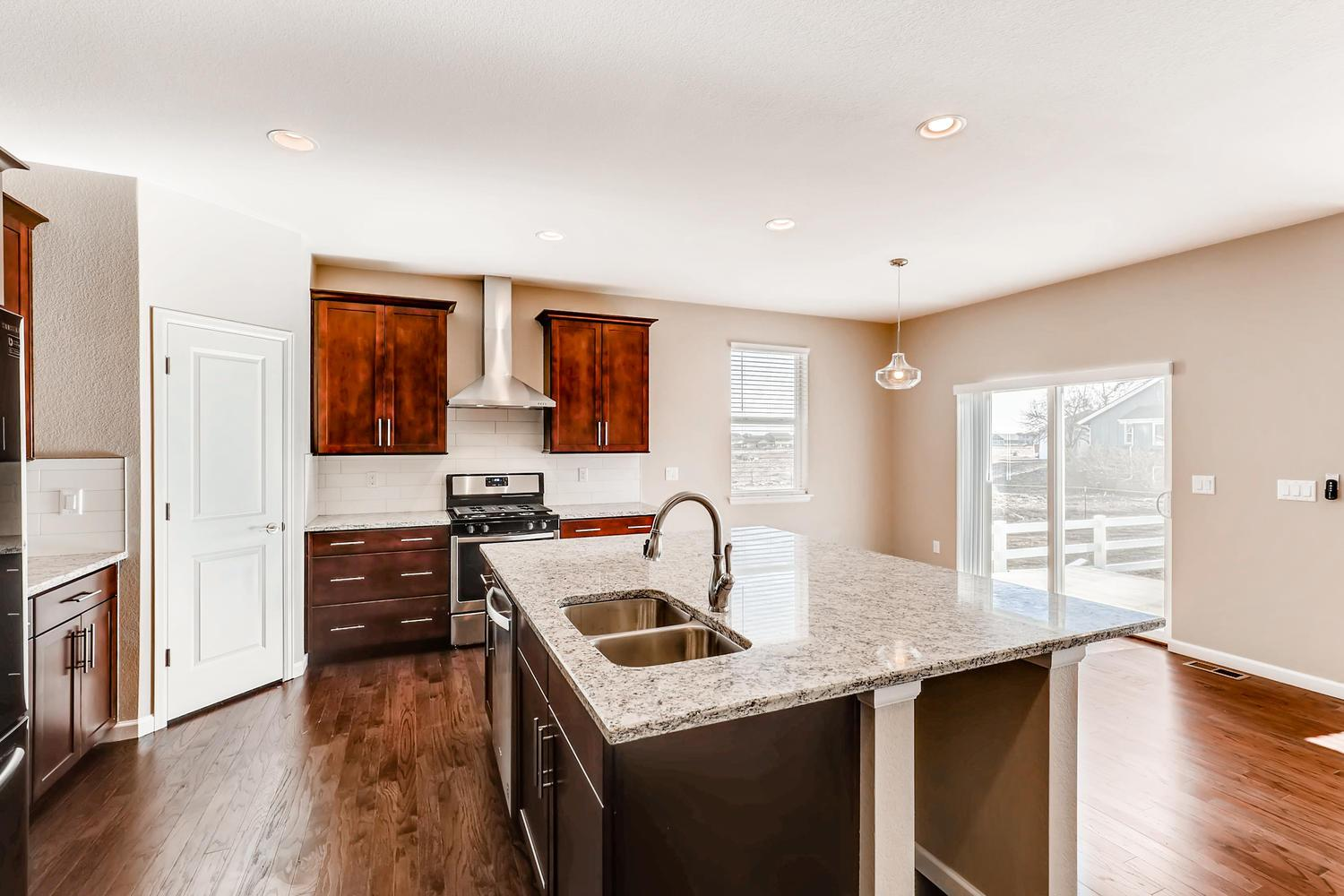 Kitchen featured in the Antero By Dream Finders Homes in Denver, CO