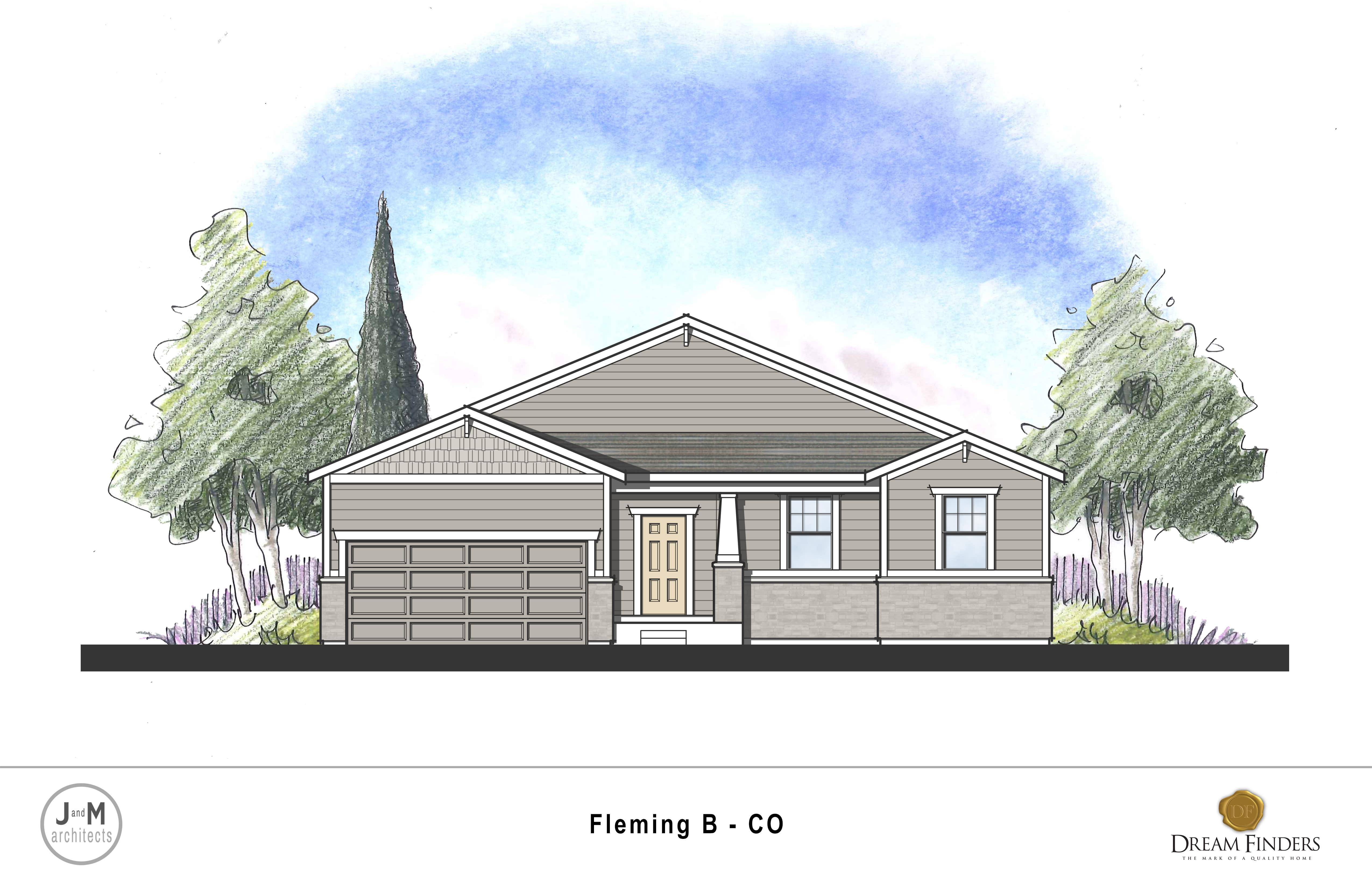 Exterior featured in the Fleming By Dream Finders Homes in Greeley, CO