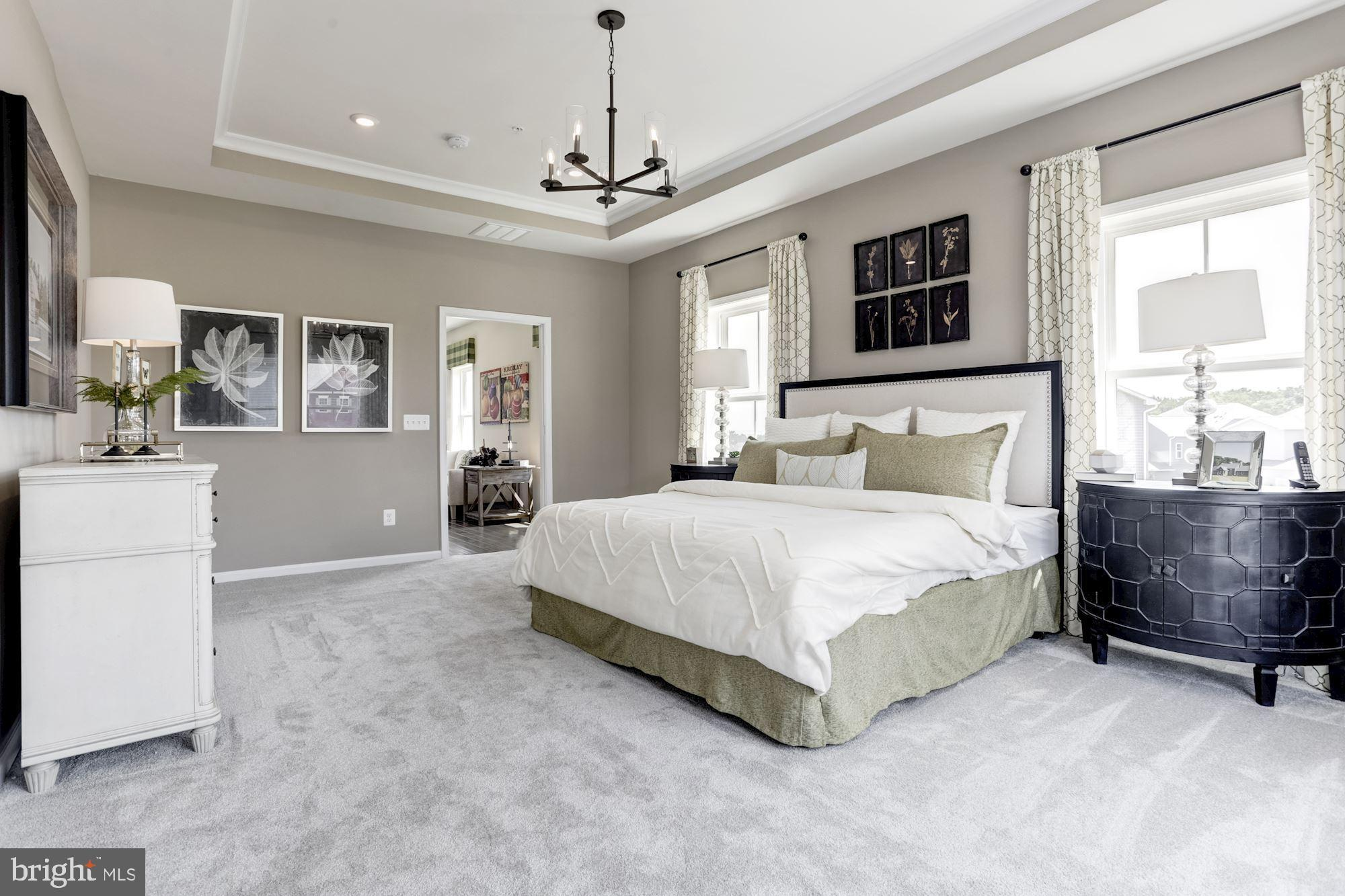Bedroom featured in the Duvall By Dream Finders Homes in Washington, MD