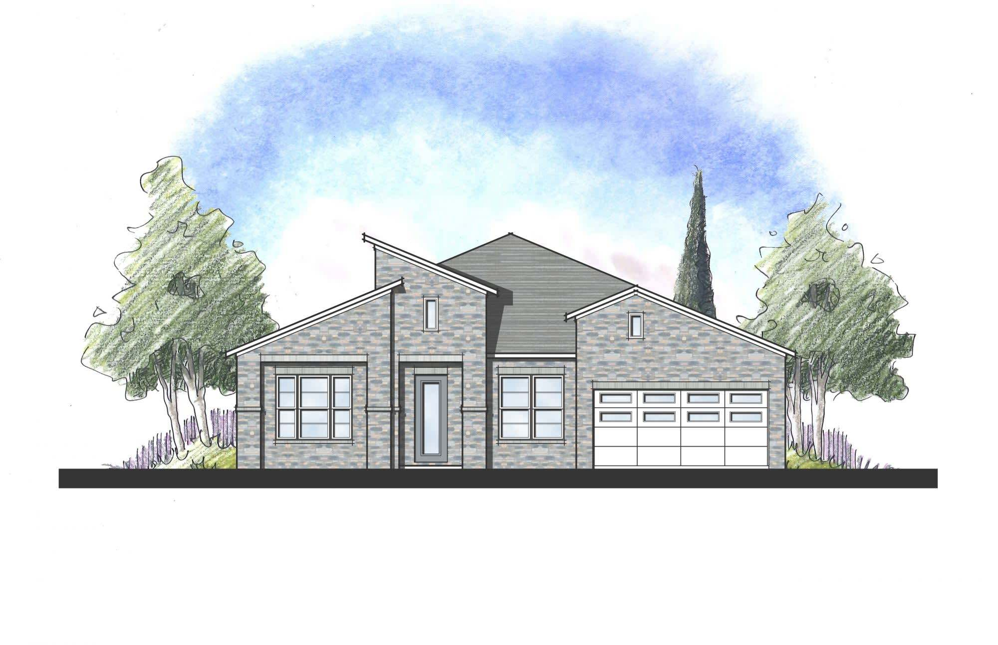 Exterior featured in the Avalon By Dream Finders Homes in Austin, TX