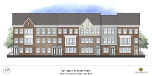 Covington - Woodlands at Goose Creek - Grand Townhomes: Leesburg, District Of Columbia - Dream Finders Homes