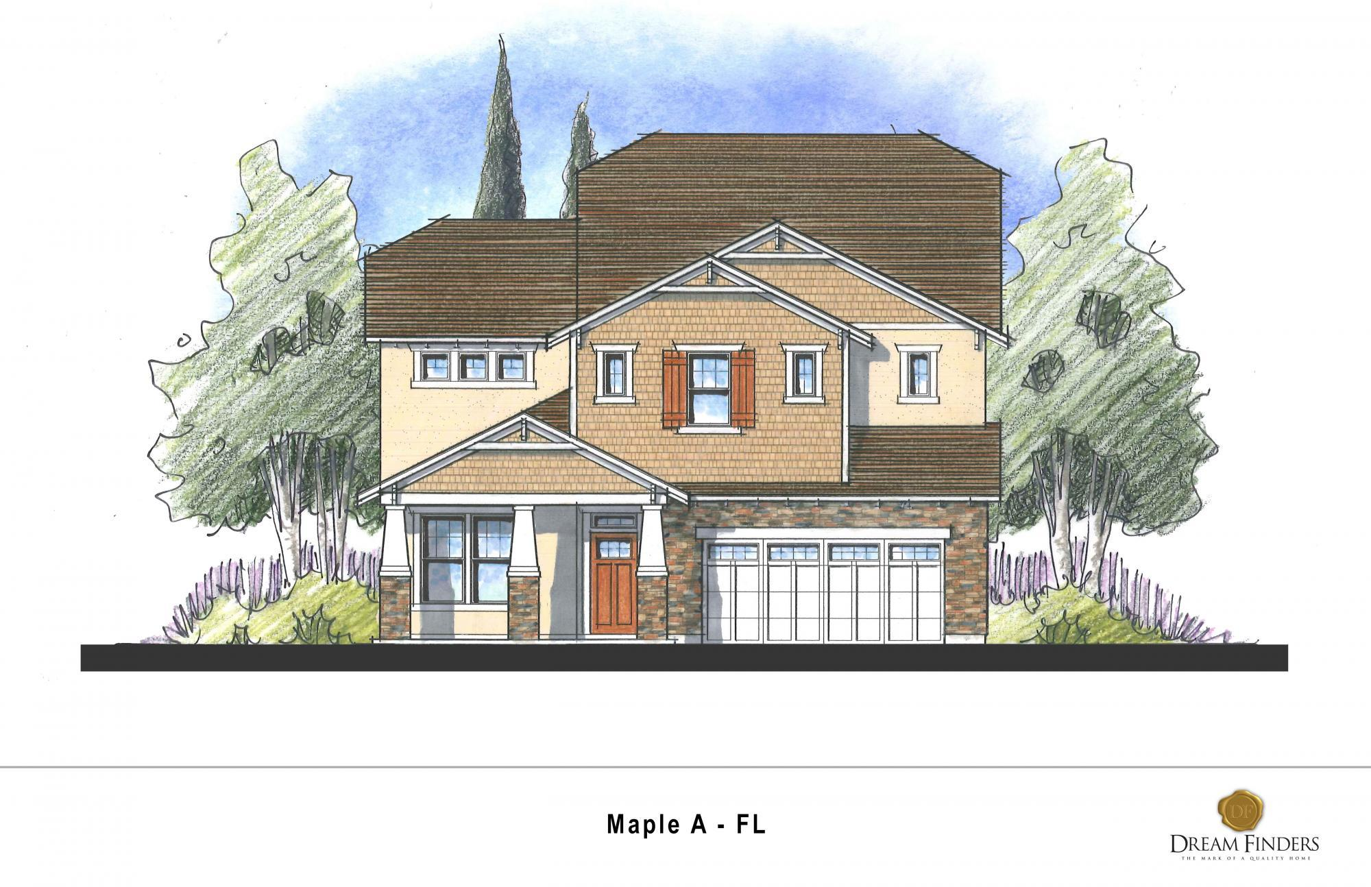 Exterior featured in the Maple By Dream Finders Homes in Savannah, GA