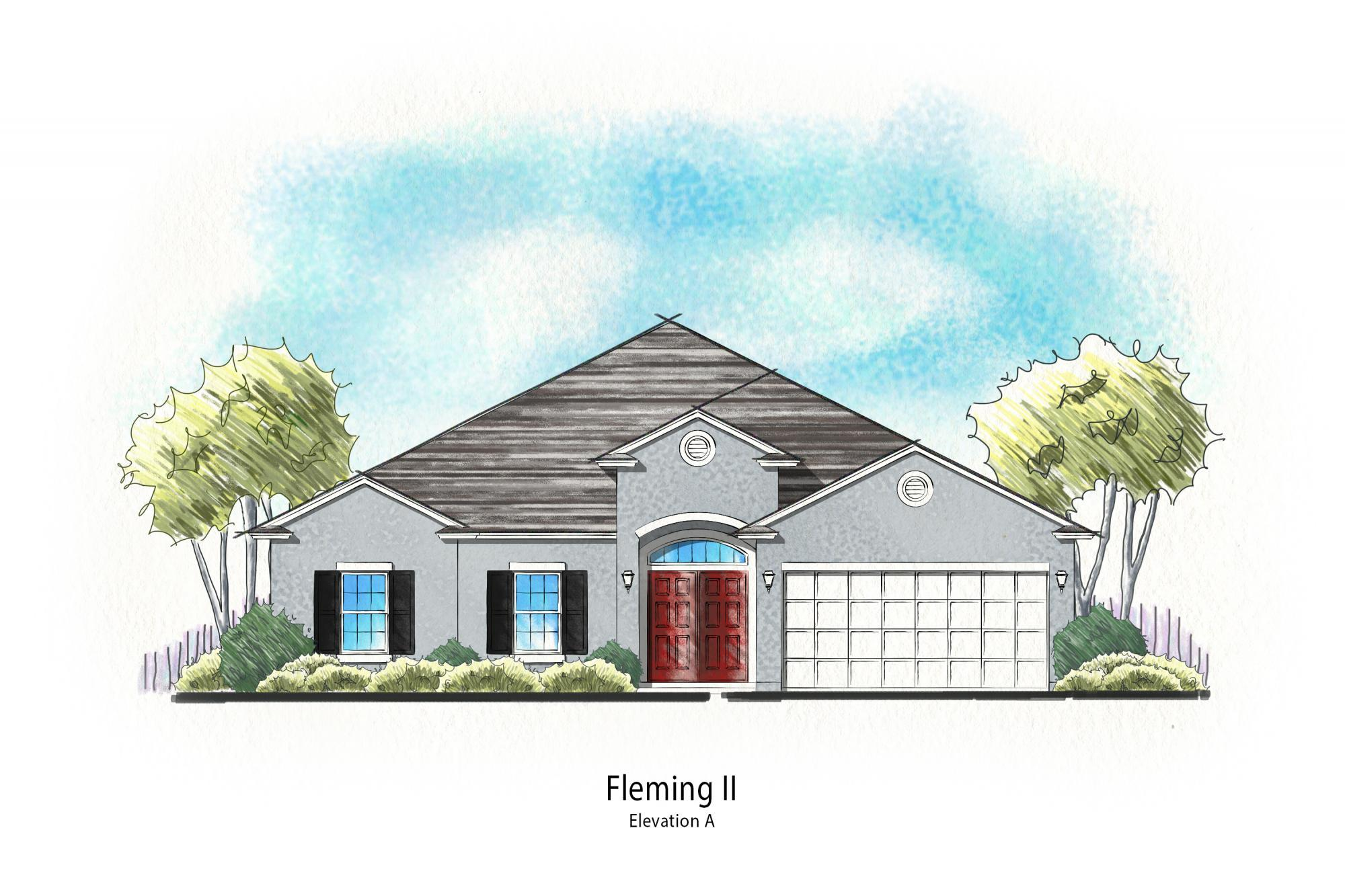 Exterior featured in the Fleming II By Dream Finders Homes in Savannah, GA